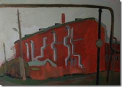 Спиртзавод в Уржуме. Картон акрил 2012