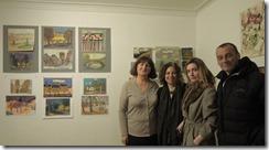 С художниками из Австралии